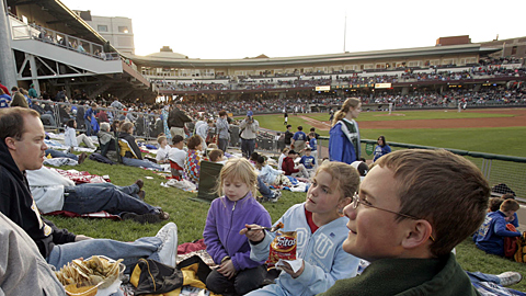 Dayton's Fifth Third Field has been sold out for every Dragons game in its existence.