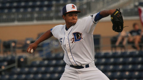 Chris Archer was a 2011 Southern League All-Star at Montgomery.