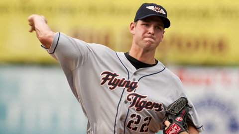 Jacob Turner made three starts with the Detroit Tigers last year.