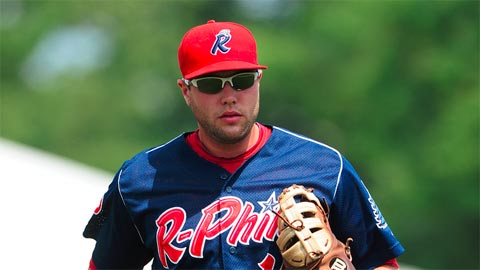 Reading's Darin Ruf led all Minor Leaguers with 38 home runs.