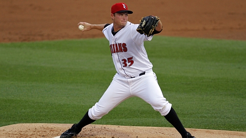 Gerrit Cole fanned seven in his Triple-A debut on Sept. 1.